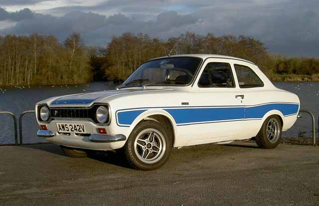 Ford Escort Mk1 / Mk2 - Test Drive Unlimited: Central
